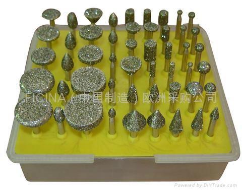 Diamond grinding pins, fresete  2