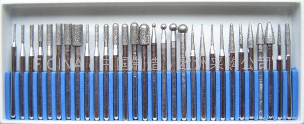 Diamond grinding pins, fresete  3