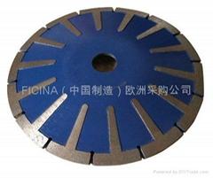 concave-turbo &bend-wave Dischi concavo diamantati