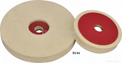 Felt , feltrini, buffing wheel