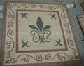 Rosone in tesere marmo regolare anticato