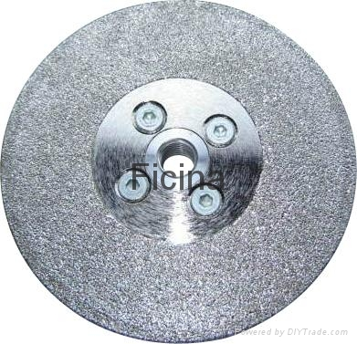 Electro-plated diamond discs with protected -segments 7