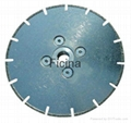 Electro-plated diamond discs with protected -segments 9