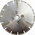 Electro-plated diamond discs with protected -segments 18