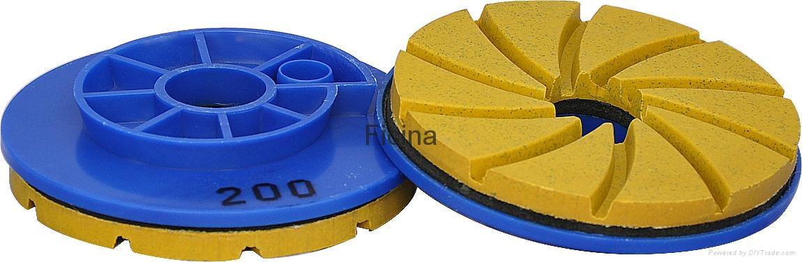 Edge polishing wheels , levigacosta