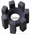 finger drill bits marble