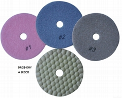 3 steps flex polishing pads