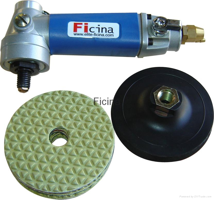 Air wet polishing machine 1
