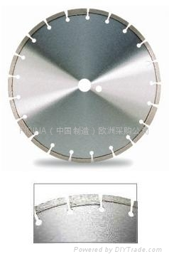 Laser Welded saw blade for hard concrete