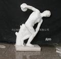 Statue in marmo Bianco-p