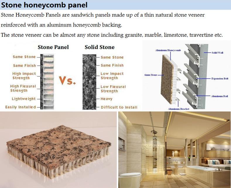Aluminium Composite Panel with stone surface