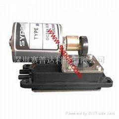 Brushless vacuum pump
