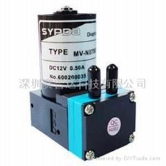 Micro brushless pump