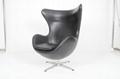 玻璃鋼雞蛋椅 客廳休閑傢具 旋轉椅 皮沙發 2