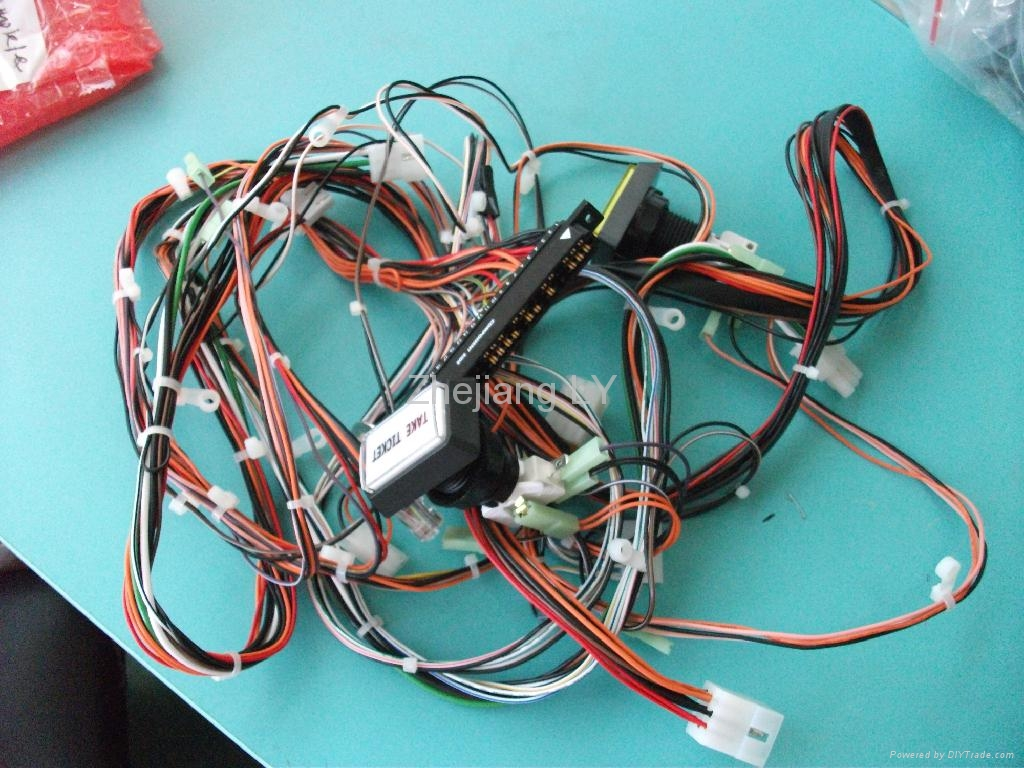 Components Of Wiring Harness : Auto electrical wiring harness wire