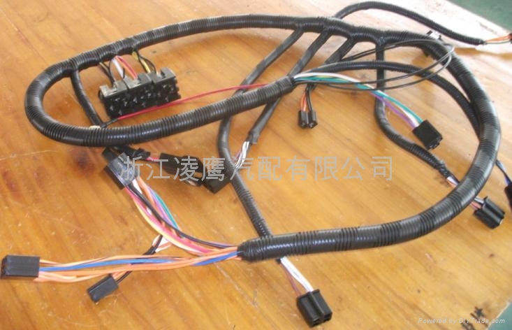 fb3a motorcycle electrical wires wiring harness ly (china diy car stereo wiring harness at virtualis.co