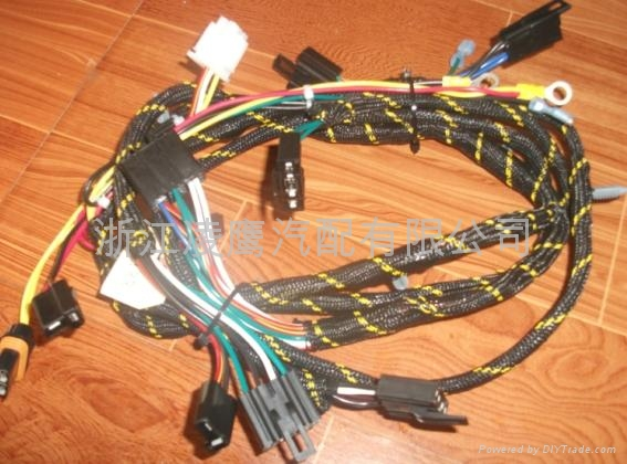 Incredible Diy Wiring Harness Basic Electronics Wiring Diagram Wiring 101 Capemaxxcnl
