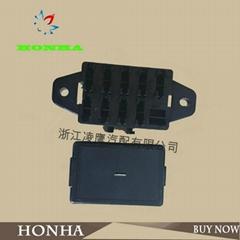 9 pin auto fuse wire harness connector