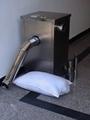 化纤枕头、靠垫充灌方法