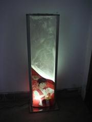 化纤球灯箱