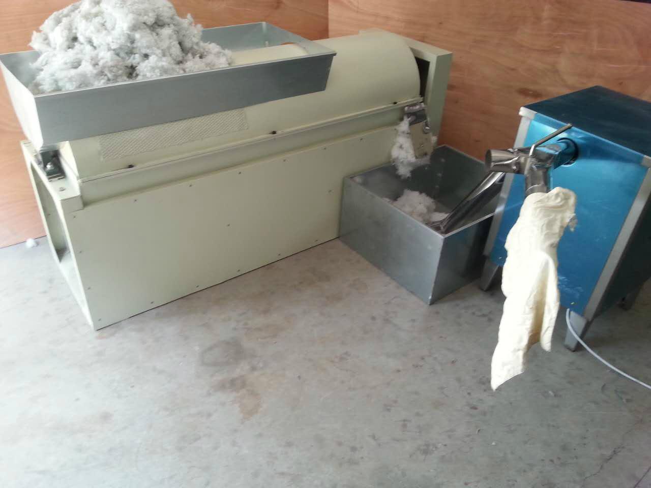 化纖球枕頭生產線 1