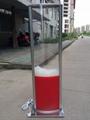 落地式 噴羽絨廣告箱 2