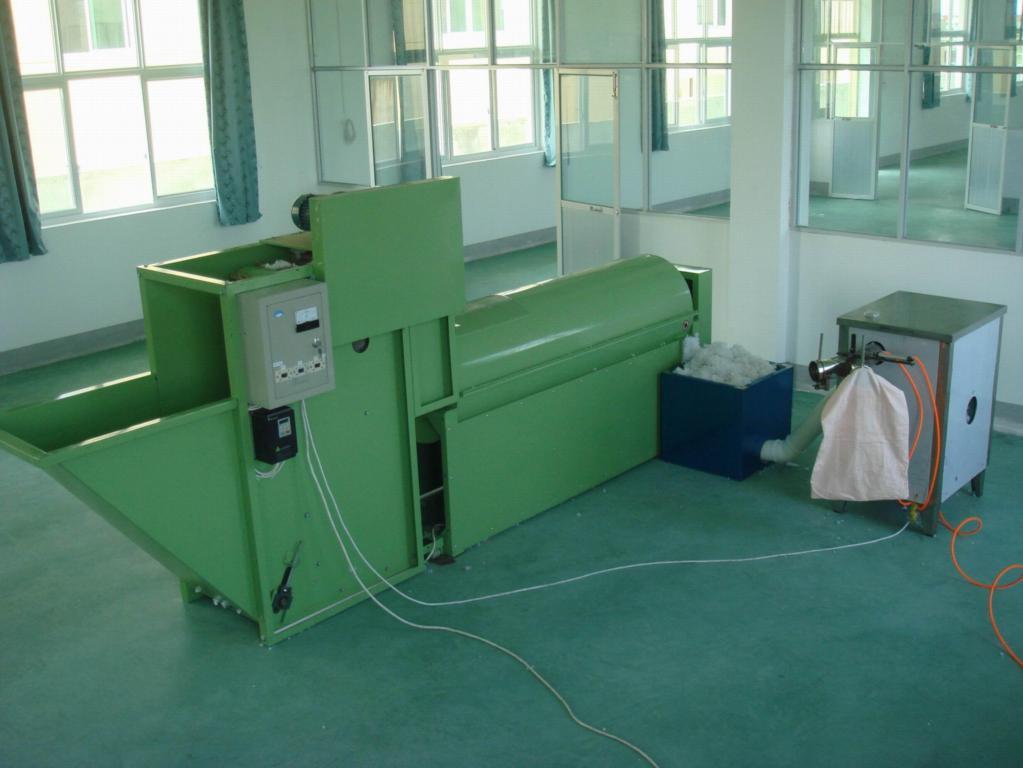 纖維球枕頭自動生產線 1