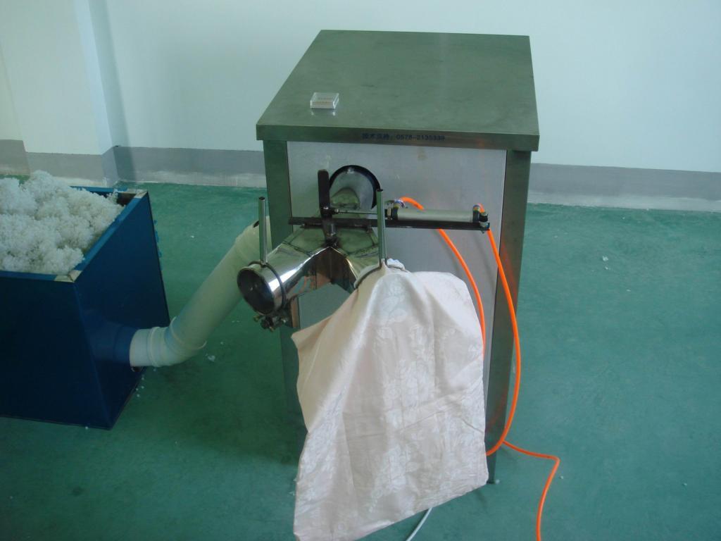 Automatic Fiber Ball Pillow Machine 2