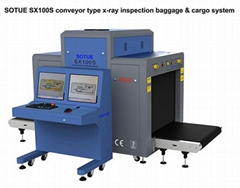Big tunnel type x-ray inspection system - x-ray scanner - luggage x-ray machine