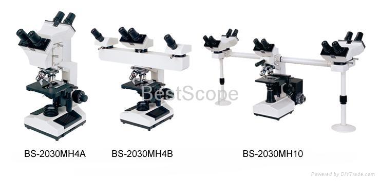 BestScope BS-2030MH Series Multi-Head Microscope 1