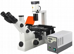 BestScope BS-7020 Inverted Fluorescent Biological Microscope