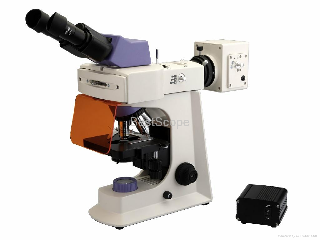 BestScope BS-2036F(LED) Fluorescent Biological Microscope 1