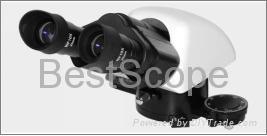 Professional dedicated polarizing binocular / trinocular head