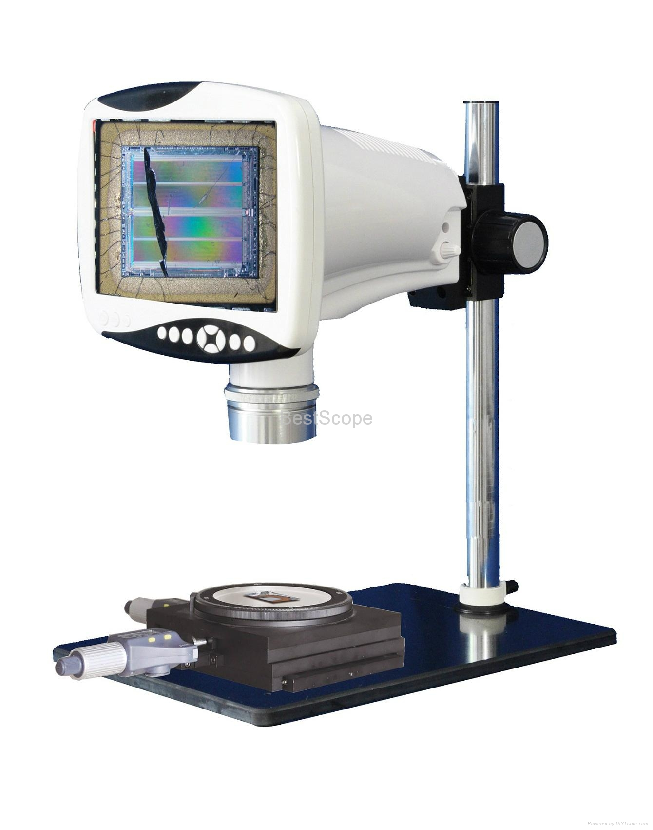 275 Best Lcd Unit Images On Pinterest: BestScope BLM-341M Digital LCD Stereo Measuring Microscope