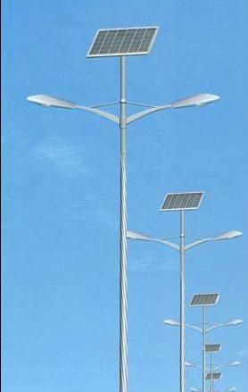 40W Double arm solar LED street light 1