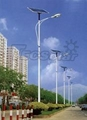 80W solar LED street light 1