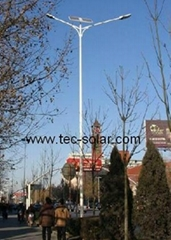 solar street lamp (40W Double arm)