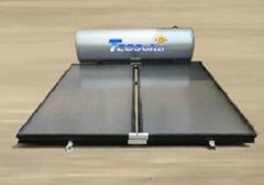 solar flat panel water heater