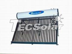 Open-loop solar water heater