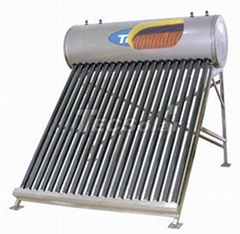 Pre-heated solar water h