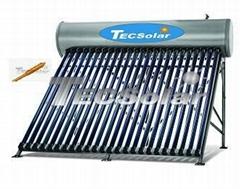 不锈钢承压太阳能热水器