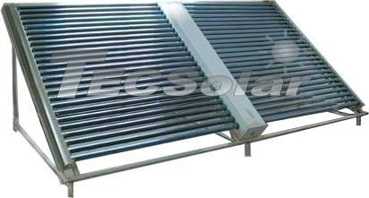 Non pressure solar collector 1