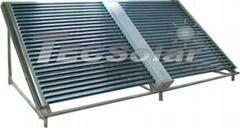 Non pressure solar colle