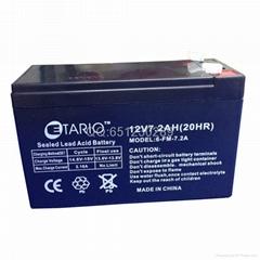 12V7.2AH(20HR) UPS Lead-acid battery