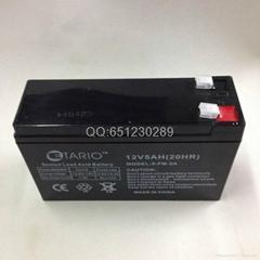 山特UPS电源电池12V5AH蓄电池