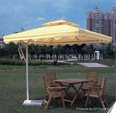 廠家直銷2.5米方形戶外太陽傘