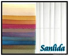sanlida 100% polyester (SLD-M024)fireproof sheer fabric