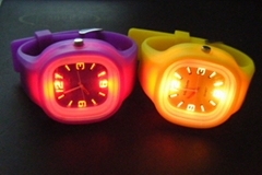 silicone jelly watch cus