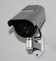 industrial used Solar energy dome dummy Security camera