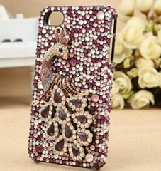 very grand 2013 For iPhone 5 5G Hard crystal diamond crystal case For iPhone 5G